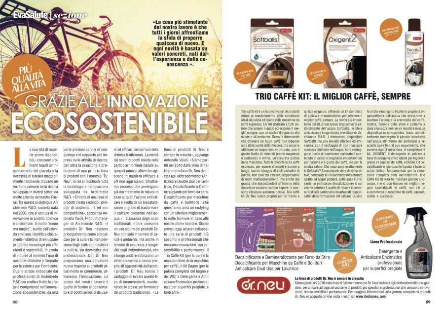 Articolo Innovazione Ecosostenibile Archimede R&D - Trio Caffè Kit Dr. Neu