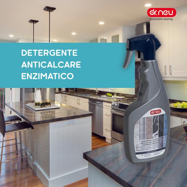Detergente anticalcare enzimatico